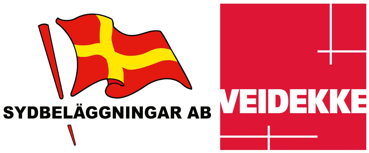 Sydbeläggningar Veidekke logo